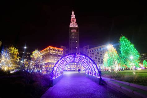 the beautiful christmas lights road trip to take in cleveland