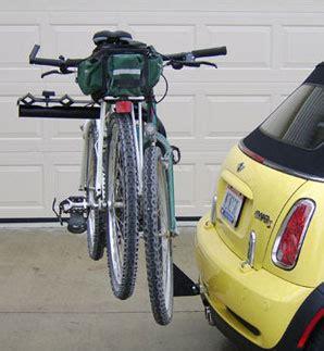 Mini Cooper Convertible Bike Rack by Mini Cooper Bike Rack Mini Cooper Accessories Mini