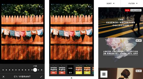 best photo filters best photo filter apps for iphone snapseed litely