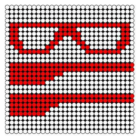 3d perler bead patterns 3d glasses perler bead pattern bead sprites misc fuse