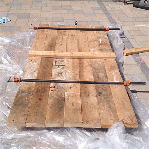 How To Install Butcher Block Countertops diy barn door from simple 2 215 6 s
