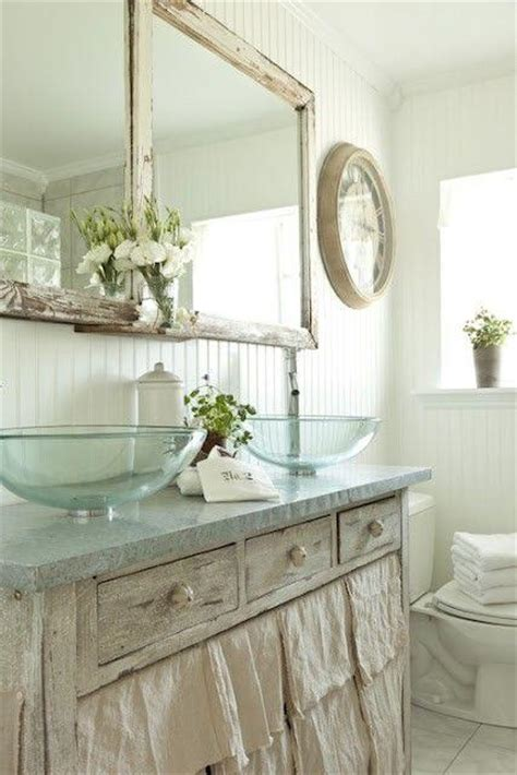 shabby chic bathrooms ideas 30 adorable shabby chic bathroom ideas