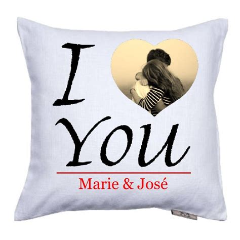 personnaliser coussin coussin i you 224 personnaliser coussin valentin