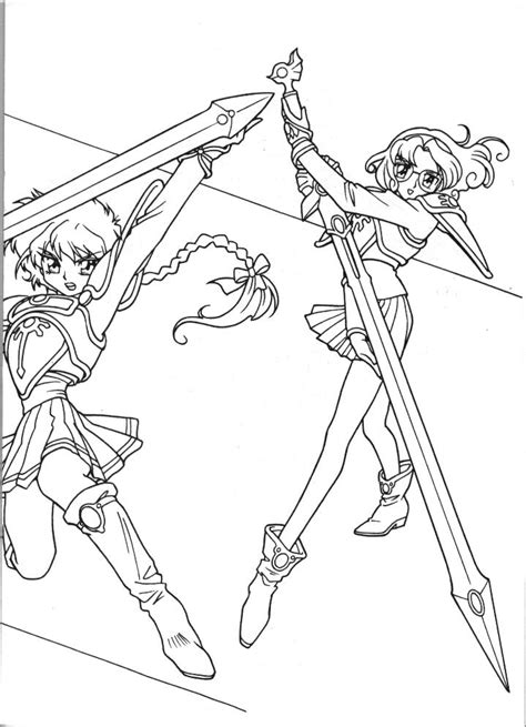 anime magical girl coloring pages magical girl colouring pages