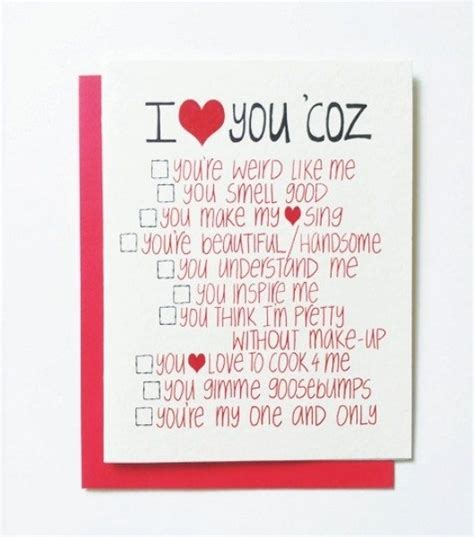 valentine s day card ideas for him designcorner