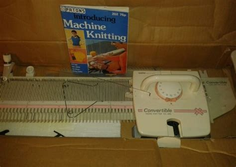 home knitting machines knitting machine kx 395 convertible home knitter