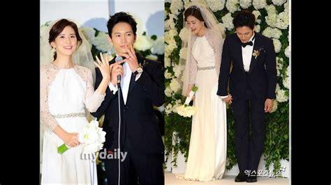 so ji sub spouse lee bo young ji sung s wedding photo album youtube
