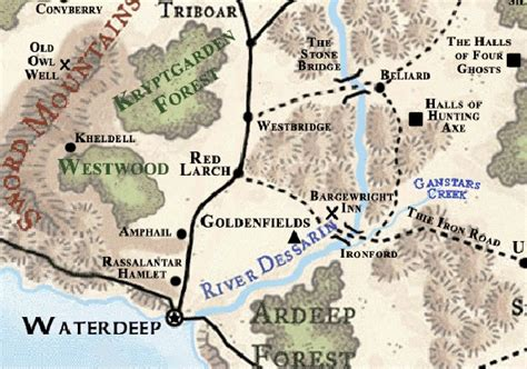 Westbridge   Forgotten Realms Wiki   Fandom powered by Wikia Y Intersection Sign