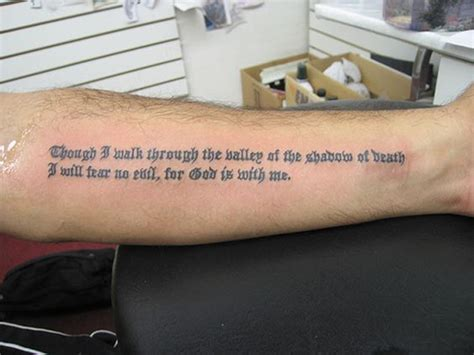 Tattoo Bible Verses About Death | shadow of death bible verse tattoo tatoos pinterest