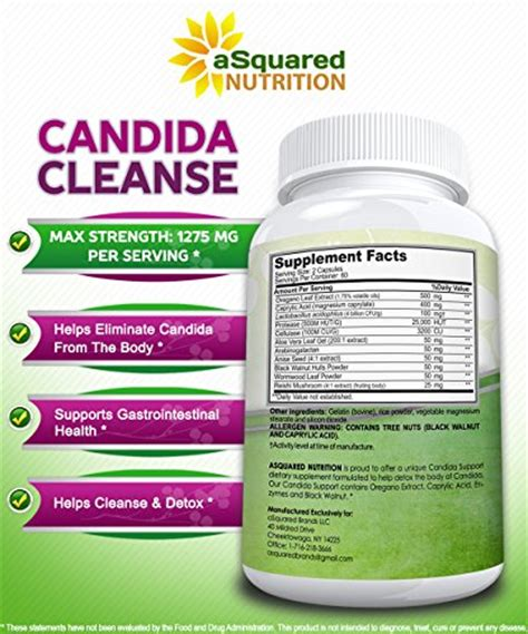Sigmaceutical Candida Detox Reviews by Candida Cleanse Supplement 120 Capsules All