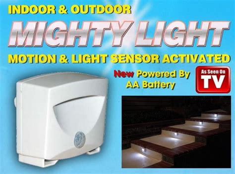 New Arrival Lu Sensor Mighty Light As Seen On Tv A230 Sse5 aliexpress buy mighty led emergency light indoor outdoor easy peel stick or