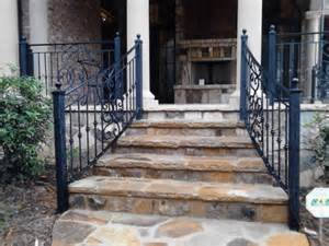 decorative outdoor handrails to add the of the