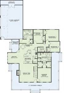 floor plans with porches house plan 62207 at familyhomeplans com