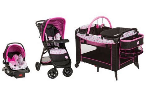 minnie mouse car seat and stroller set at walmart baby stroller car seat playpen combo travel system minnie