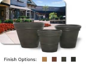 large plastic outdoor planters modern patio outdoor