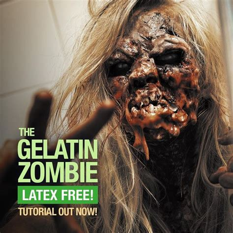 zombie makeup tutorial no latex epic latex free zombie sfx makeup tutorial all