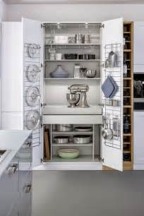 brilliant kitchen appliance storage cabinets design idea