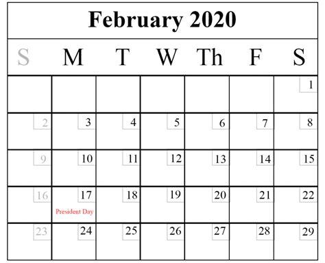 february  printable calendar templates   word excel printable february