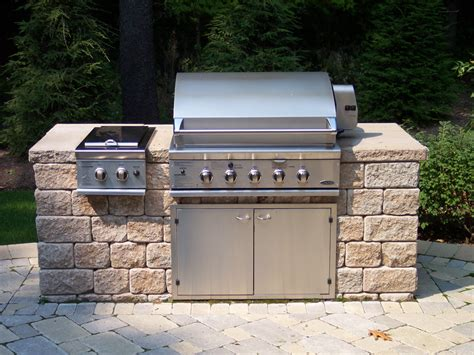 Patio Kitchen Grill Outdoor Kitchens Landscaping Services Woodstream Nurseries