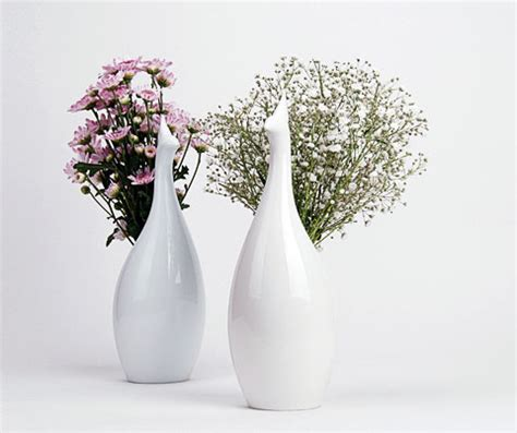 How To Design A Flower Vase by Peakco Vase Blooming Flowers Or Feathers Decor