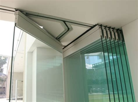 glass stacking doors commercial advance metal industries australia