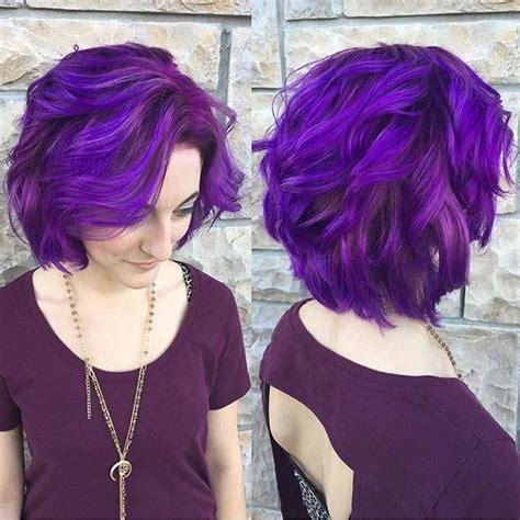 ideas  short purple hair  pinterest crazy colour silver colored hair styles
