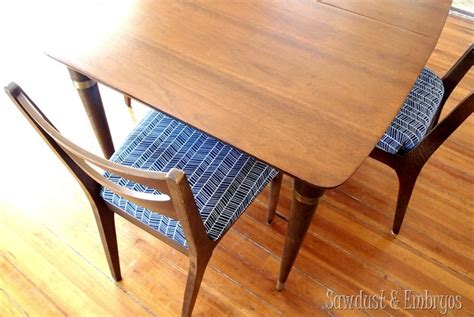 restoring a mid century modern dining set reality daydream