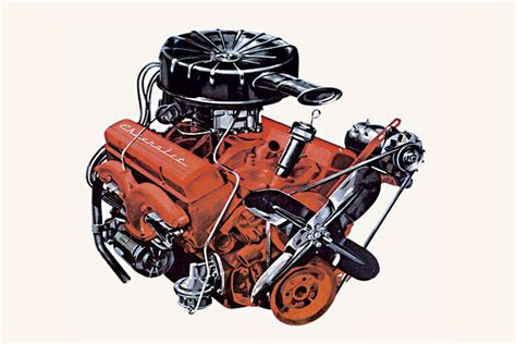 Small Block Chevy Engine by Small Block 265 283 307 305 327 350 400