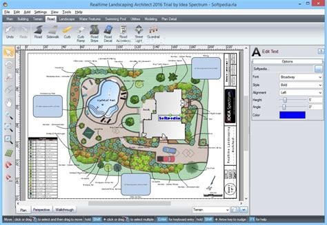 screenshot review downloads of demo ez architect realtime landscaping architect download