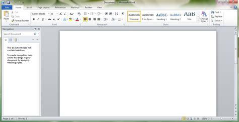 Microsoft Word 2010 Pc And Software Tips Screenshot Of Microsoft Word 2010