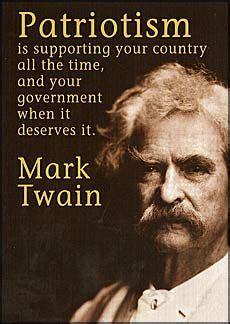 ponder mark twain politics  truths