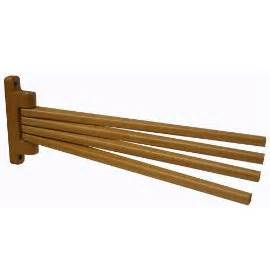 wooden swing arm towel rack wooden swing arm towel rack