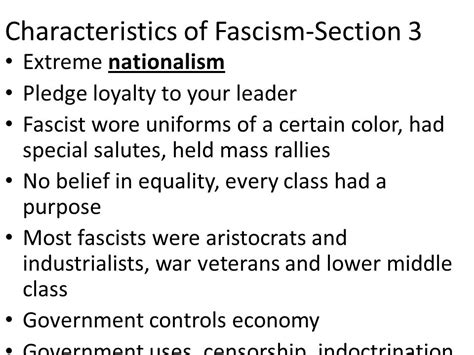 characteristics of sectionalism chapter 16 overview the rise of totalitarianism ppt download