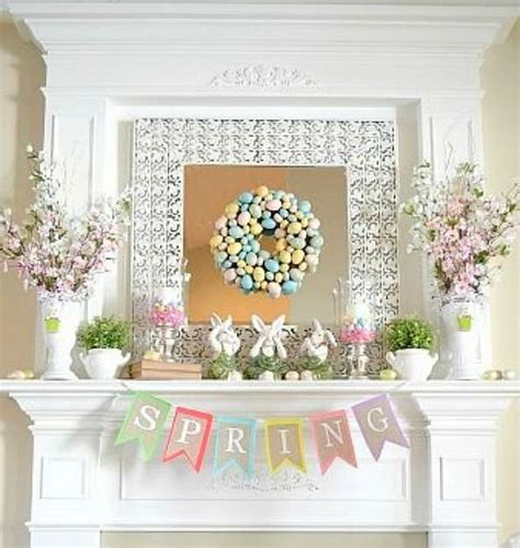eggs bunnies and flowers decoration ideas for easter