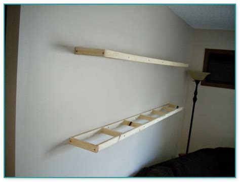 Attach Shelf To Wall by Attaching Floating Shelves To Wall