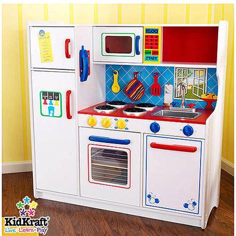 Walmart Childrens Kitchen Sets by Kidkraft Deluxe Let S Cook Kitchen Walmart