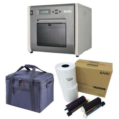 Hiti P525l Photobooth hiti p525l roll photo printer w hiti 4x6 media padded printer carrying 88 d2035 01at a