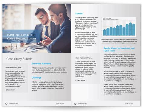 Case Study Template Web Design Study Template