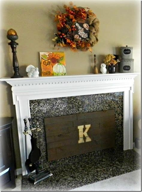 insulated fireplace cover wpallet wood crafts diy