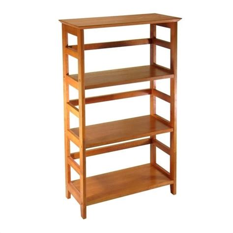 3 tier bookshelf in honey 99342