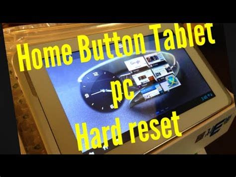 reset android tablet using pc how to android tablet pc hard reset reboot restore with