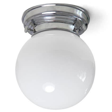 deckenleuchte kugel nostalgische kugelglas deckenleuchte nicht nur f 252 r
