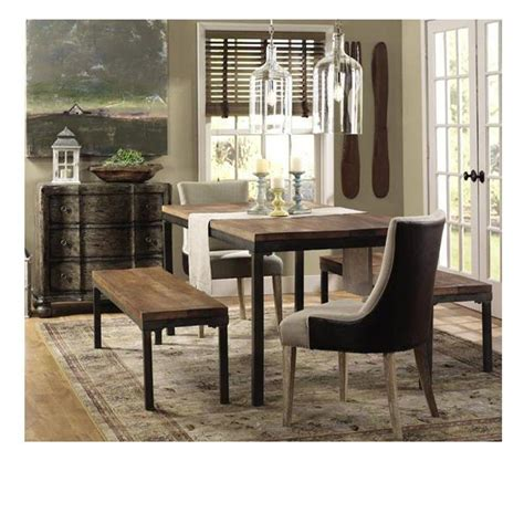 Dining Room Linens Becca Brown Linen And Leather Dining Chair 0845200790 The Home Depot