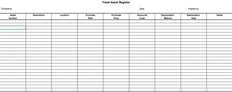 fixed asset register excel template what is a fixed asset register defintion and free excel