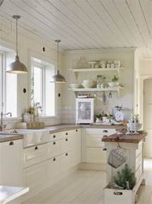decor ideas for kitchen 35 cozy and chic farmhouse kitchen d 233 cor ideas digsdigs
