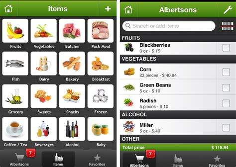 Printable Grocery List App | apps for grocery list grocery list template