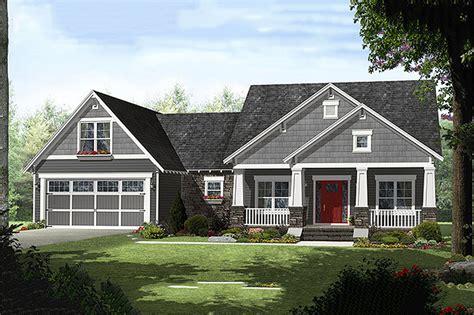 craftsman style garage plans craftsman style house plan 4 beds 2 50 baths 2199 sq ft