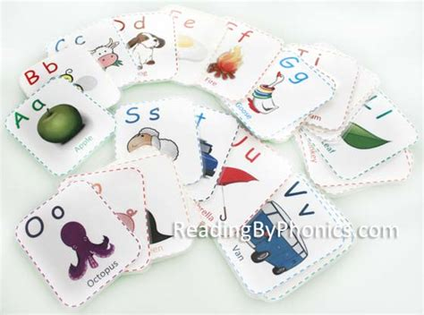Diy Alphabet Flash Card Template by Diy Printable Abc Flashcards With Colorful Pictures