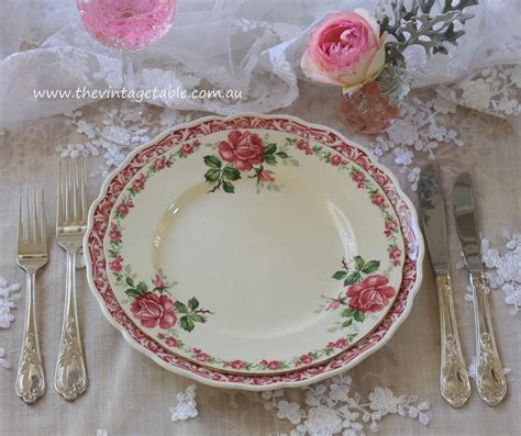 vintage dinner vintage dinner plate hire the vintage table perth