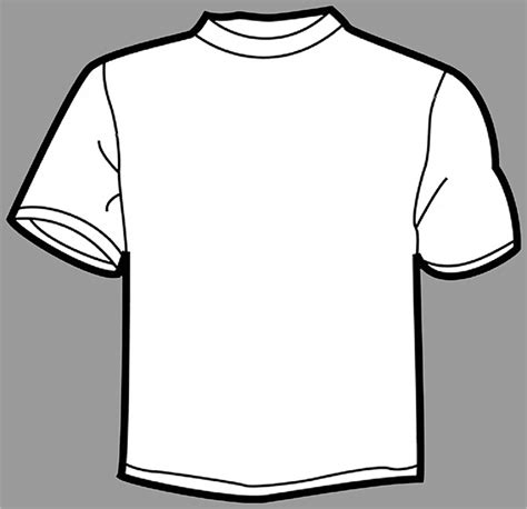 teeshirt template printable t shirt templates